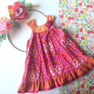 Penelope Mack paisley print ruffle dress